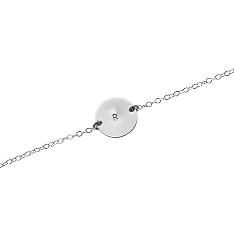 Initial This Silver bracelet
