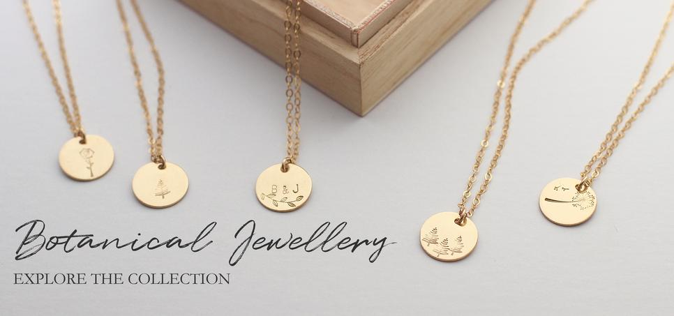 Shop botanical jewellery