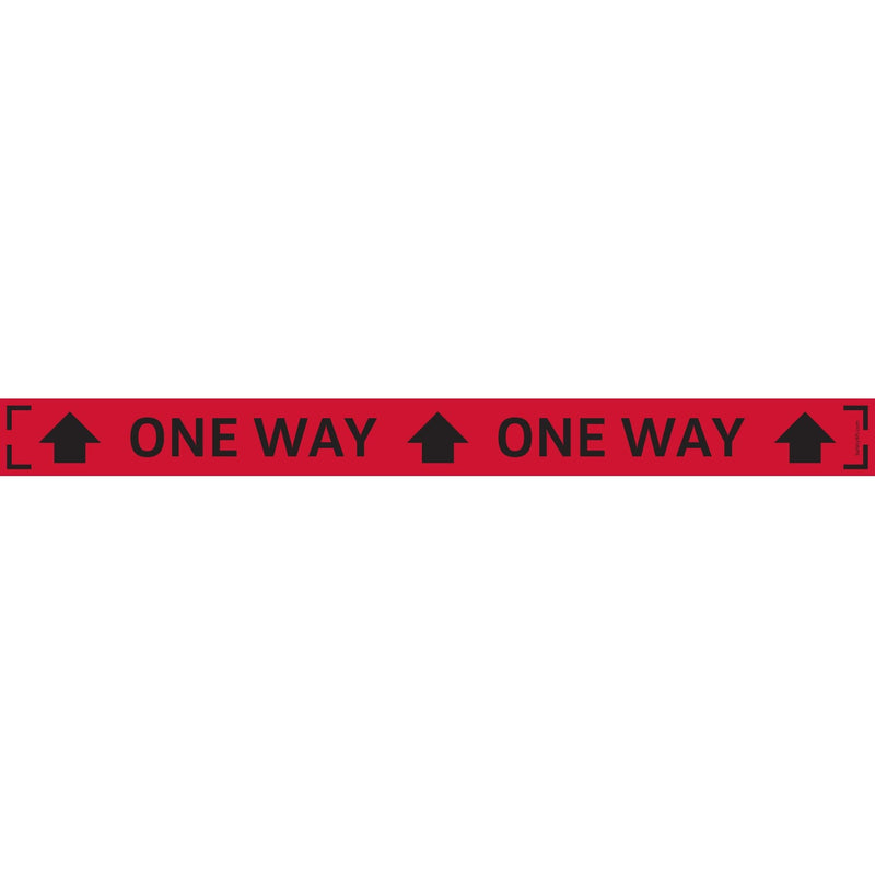Audi One-Way Narrow Strip Carpet Sign