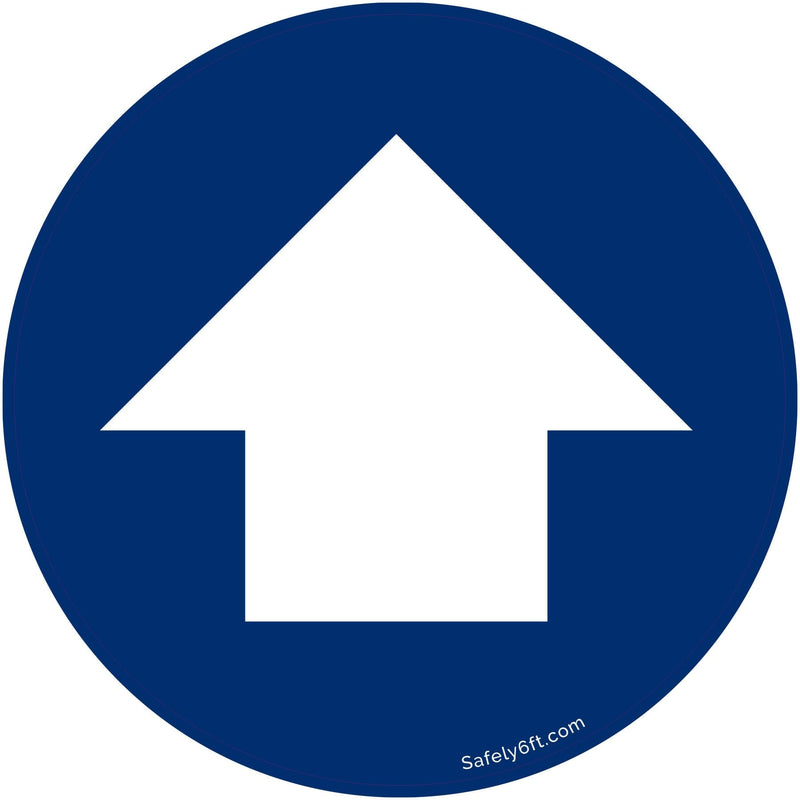Ford One-Way Directional Arrow Carpet Sign