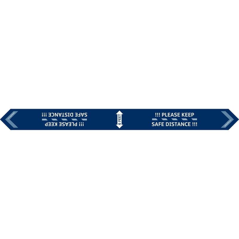 VW Two-Way Arrow Carpet Sign