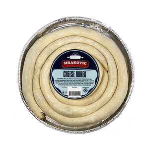 Cheese Burek Medium Round Frozen 1.3kg