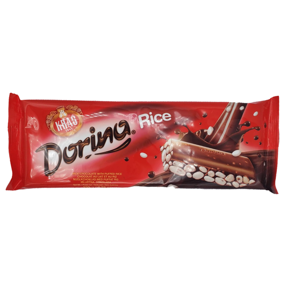 Kras Dorina Chocolate with Rice 220g