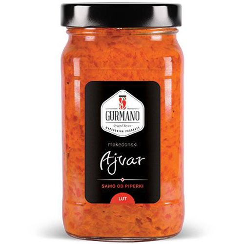 Gurmano Hot Ajvar 490g