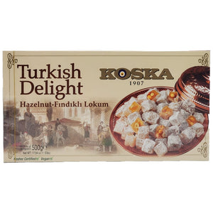 Koska Turkish Delight Hazelnut