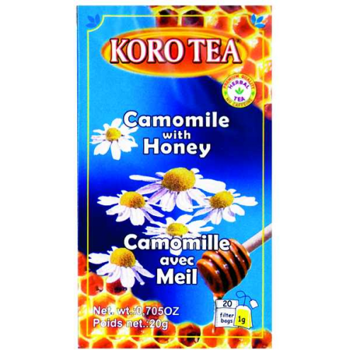 Koro Tea Camomile with Honey 30g
