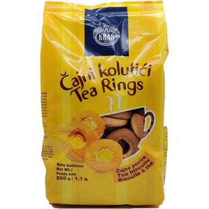 Tea Rings (Cajni Kolutici) Biscuits