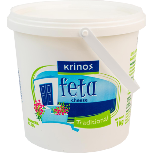 Krinos Traditional Feta Cheese 1kg