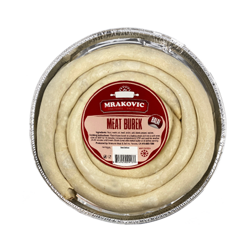 Meat Burek Medium Round Frozen 1.3kg