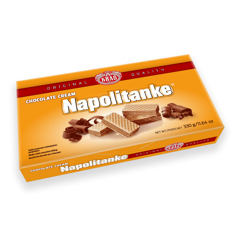 Napolitanke Chocolate Cream 330G