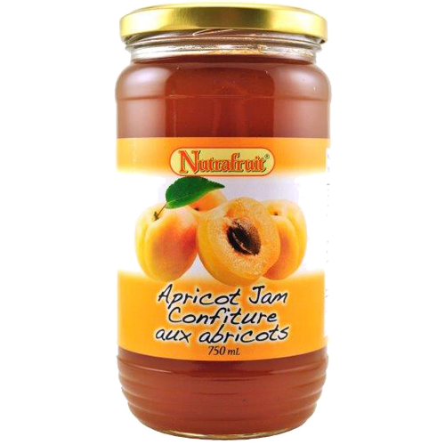 Nutrafruit Apricot Jam 750ml