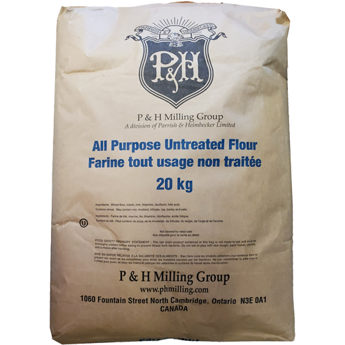 P&H All Purpose Untreated Flour 20kg