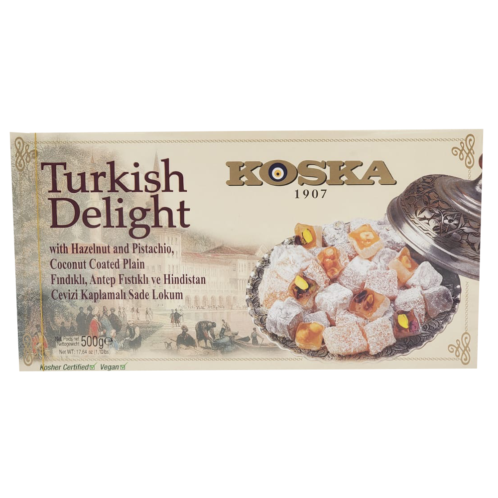Koska Turkish Delight with Hazelnut and Pistachio