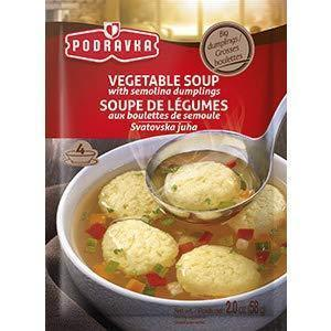 Vegetable Soup With Semolina Dumplings