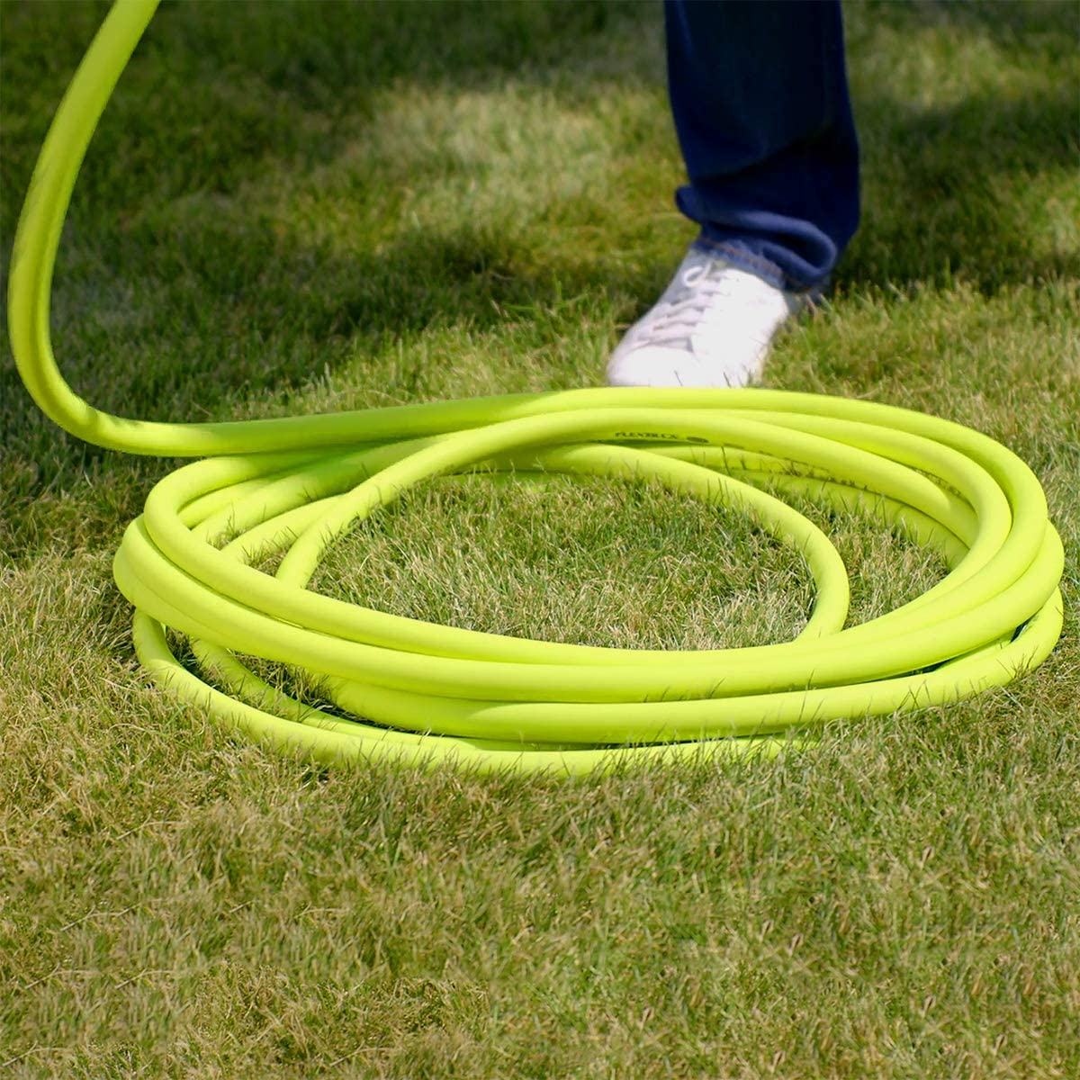 Garden Hose, 5/8 in. x 50 ft., Lightweight, Drinking Water Safe - HFZG550YW-E