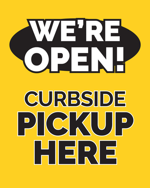 Curbside Pickup 2 - Yellow - Set of 5
