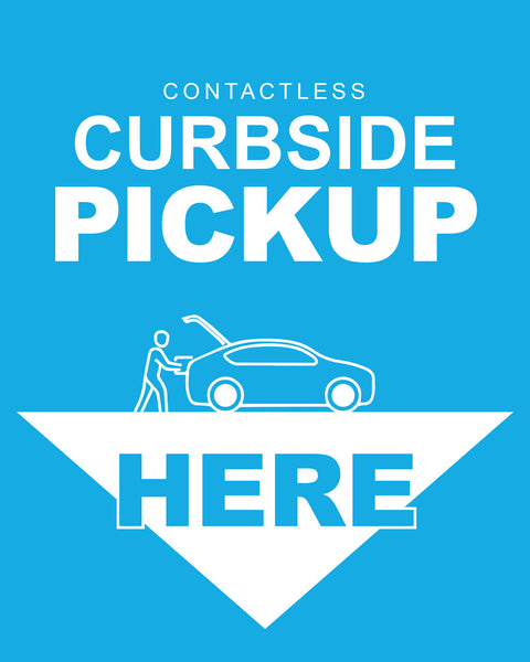 Curbside Pickup 4 - Blue - Set of 5