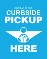 Curbside Pickup 5 - Blue - Set of 5