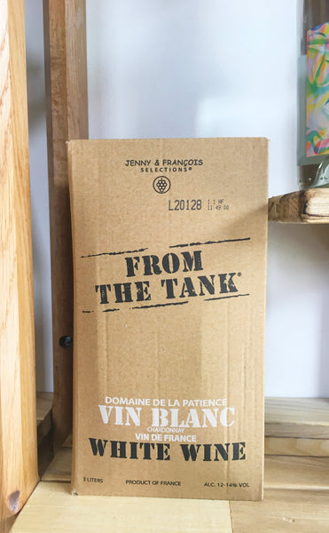 From The Tank White Wine 3L