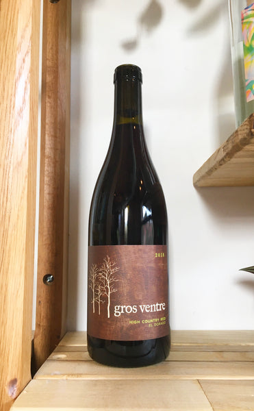 Gros Ventre Cellars High Country Red Gamay and Pinot Noir