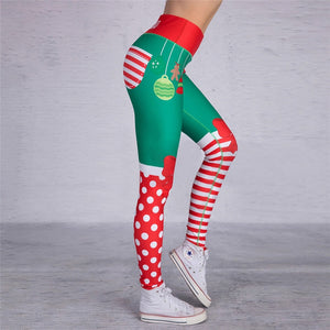 Santa Leggings