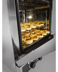 ELEC. CONVECTION OVEN WITH HUMIDIFICATION 4 TRYS