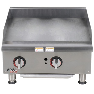 APW ELECTRIC GRIDDLES 60CM