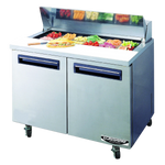 Load image into Gallery viewer, 92CM UNDERCOUNTER 2 DOOR SALAD FRIDGE 92CM