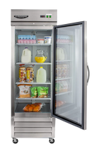 Load image into Gallery viewer, GALSS SINGLE DOOR UPRIGHT REFRIGERATOR