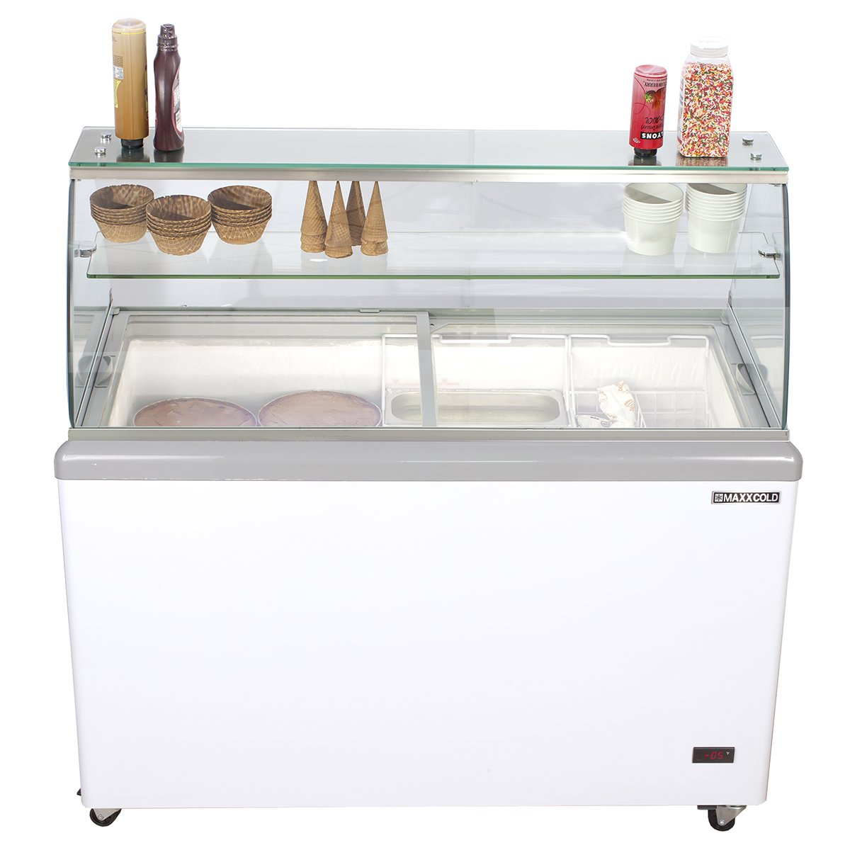 Ice-cream Dipping Cabinets 8 GN 1/3