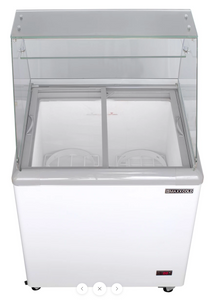 Ice-cream Dipping Cabinets 4 GN 1/3