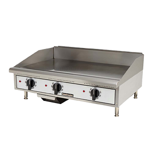 GAS GRIDDLE COUNTER TOP 90CM