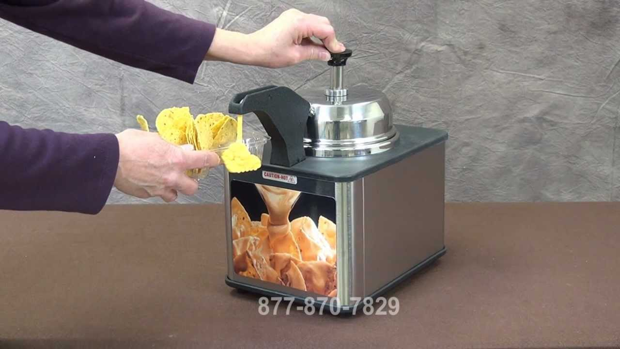 Topping warmers dispenser