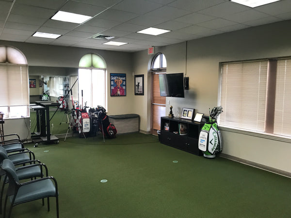 Leadbetter Golf Coaching Room