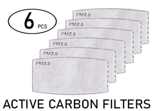 Pack 6pcs - Innovatek Active Carbon Filter PM2.5 ( type F1 ) - Innovatek Store