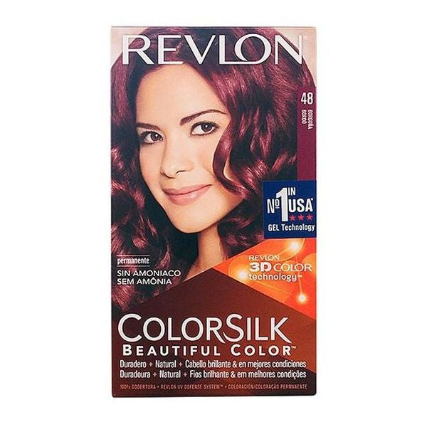 Dye No Ammonia Colorsilk Revlon Burgundy