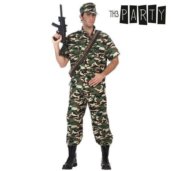 Costume for Adults Camouflage soldier