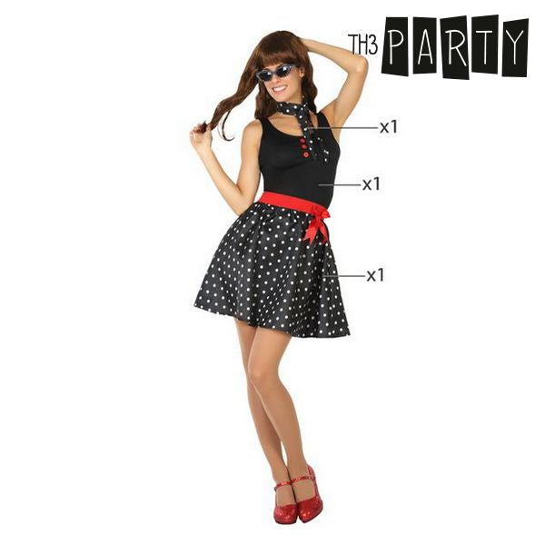 Costume for Adults 50S Black