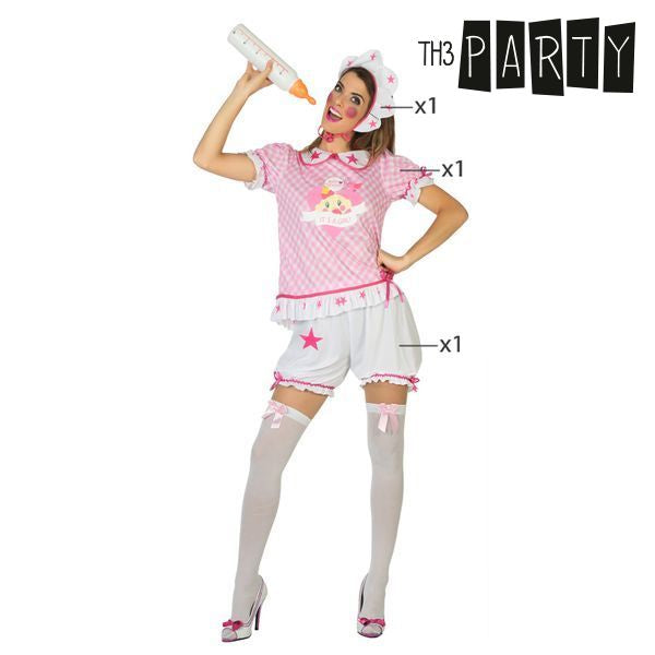 Costume for Adults Baby Pink