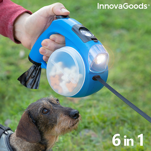 6-in-1 Retractable Dog Leash Compet InnovaGoods
