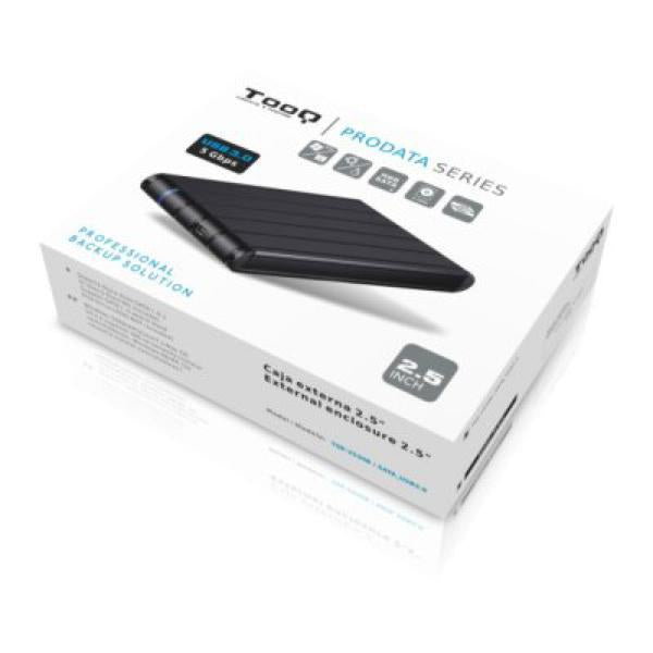 "External Box TooQ TQE-2530B HDD 2.5"" SATA III USB 3.0 Black"