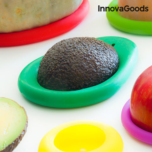 InnovaGoods Silicone Food Storage Covers (6 Pieces)