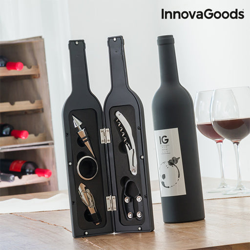 InnovaGoods Bottle Wine Set (5 Pieces)