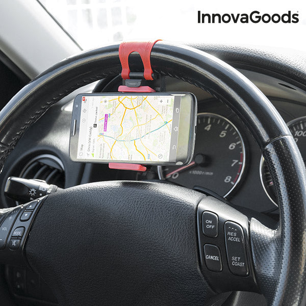 InnovaGoods Steering Wheels Phone Holder