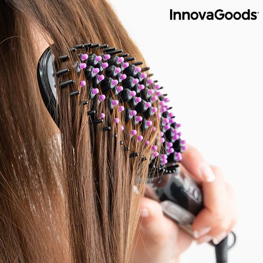 InnovaGoods Oval Straightening Brush, 220W