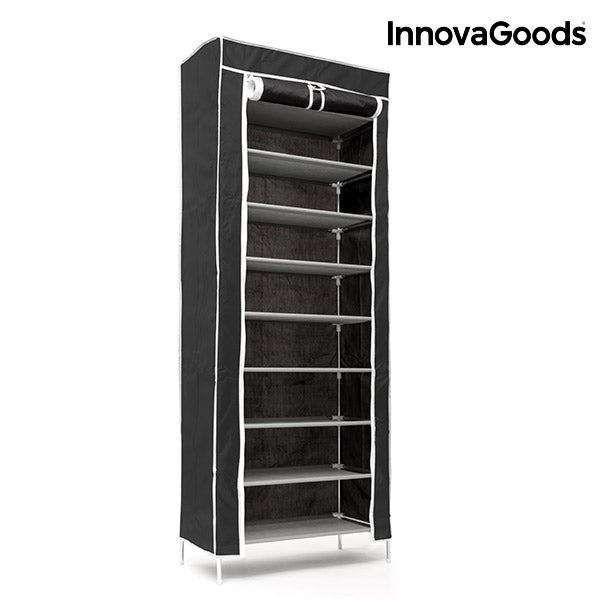 InnovaGoods Canvas Shoe Organiser (27 Pairs)