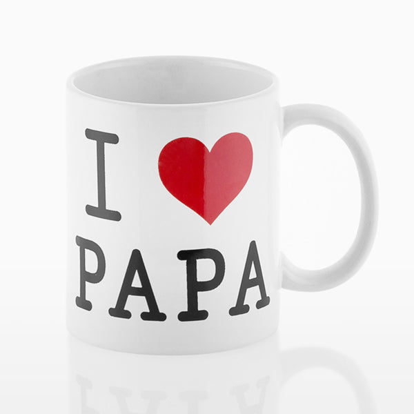 I Love Papa Romantic Items Mug
