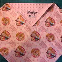 Load image into Gallery viewer, Personalised Snuggle Blanket, Embroidered Baby Blanket