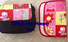 Load image into Gallery viewer, Peppa Pig/George Pig fabric Footmuff, Car Seat Footmuff & Accessories