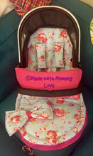 Load image into Gallery viewer, Cath Kidston rosali fabric Footmuff, Car Seat Footmuff & Accessories